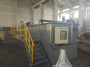 China High Surface Load Dissolved Air Flotation Unit Large Purification Capacity Safe supplier