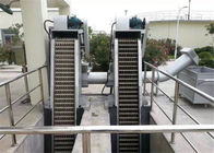 Mechanical Wastewater Fine Screens Revolving Low Power Consumption