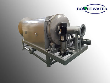 Textile Plant Rotary Drum Screen , Screening In Sewage Treatment Internal Feed
