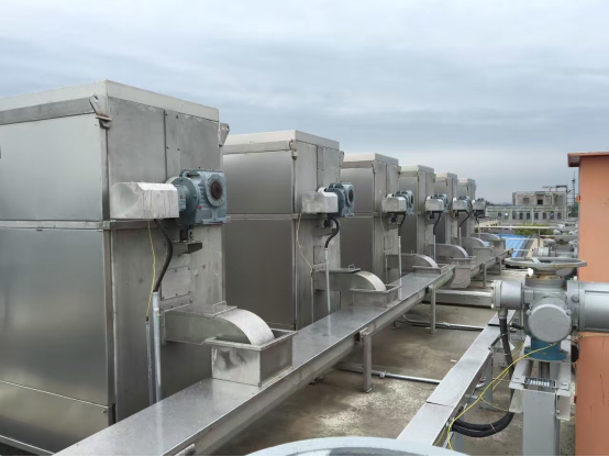 Filtration Mechanical Screen Wastewater Dual Flow Travelling Band Non Standard